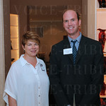 Michelle Winters and President of the Executive Board of Directors Tim Tomes.