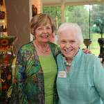 Evelyn Becker and Janet Falk.