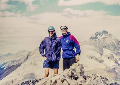 Thierry & Fraser atop Schaffer