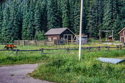 Warden Station & Ranch in Yoho NP.