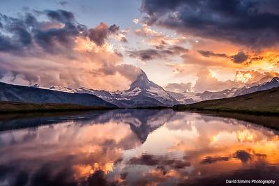Reflections of Matterhorn