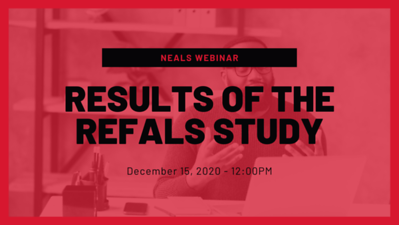 Results of the REFALS Study