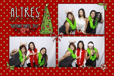 ALTRES Holiday Party 2014 (Fusion Booth)