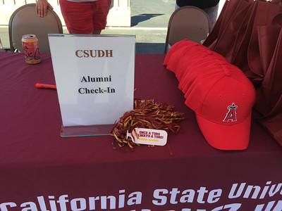 ALUMNI & FRIENDS DAY AT ANGEL STADIUM