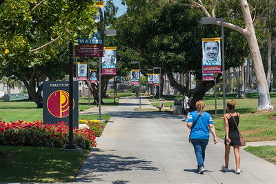 BANNERS ON CAMPUS