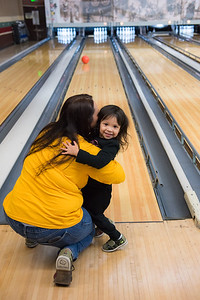 2016 Alumni Bowling family and friends gathered for good food and sharing memories at Lynnwood Bowling in Anaheim California