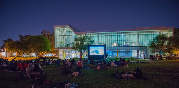 CSUDH Movie Night on the north lawn at California State University Dominguez Hills