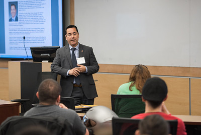 2017 Professor for a Day featuring DH Alumna Andy Perez on April 13th at California State University Dominguez Hills