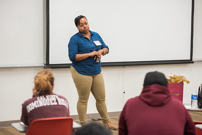 2017 Professor for a Day featuring DH Alumna Chardae Jenkins on April 12th at California State University Dominguez Hills