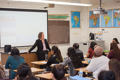 2017 Professor for a Day featuring DH Alumna Mary Sue Maurer on April 13th at California State University Dominguez Hills