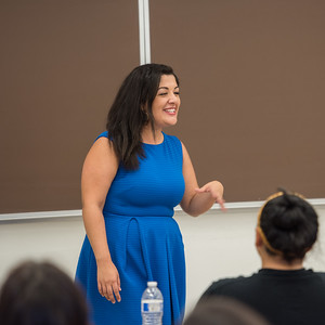 2017 Professor for a Day featuring DH Alumna Sabrina Rivera on April 13th at California State University Dominguez Hills