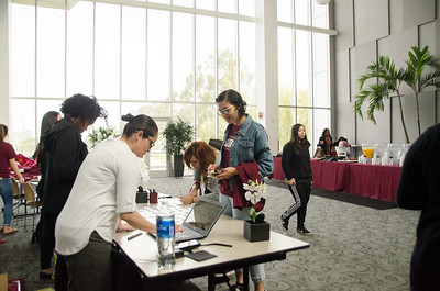 4th Annual Women's Conference with Dr. Gretel Vera-Rosas 2017 CSUDH in the loker student union