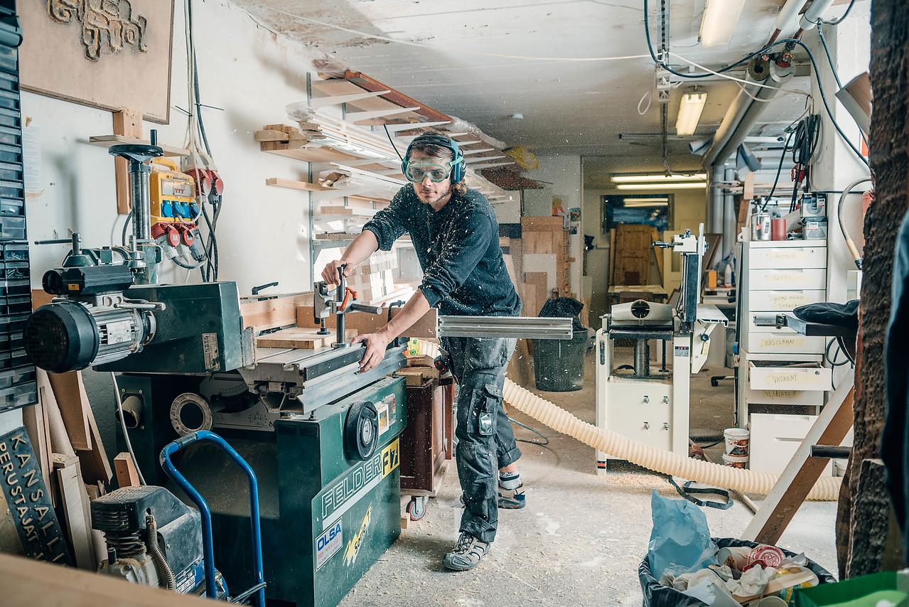 People at Work project, Puusepänliike Björkman @ Helsinki 2015