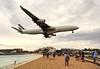 Airbus over Sint Maarten