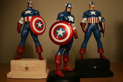 Bowen Designs Captain America Statues