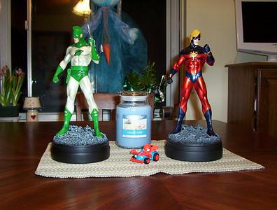 Bowen Designs Captain Marvel 60s, Captain Marvel 70s, and Captain Marvel Modern - Genis Vell Statues