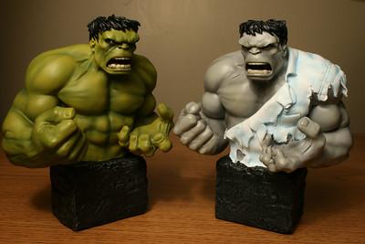 Bowen Designs Hulk mini-busts and Friends