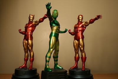 Bowen Designs Iron Man and Guardsman by Applefish