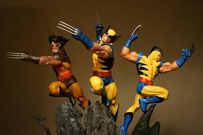 Bowen Designs Wolverine Action Statues