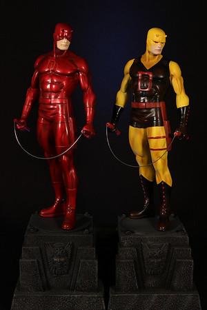 Bowen Designs Daredevil Statue and Friends