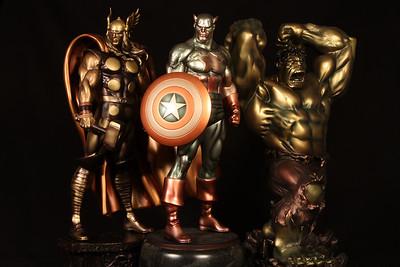 The Bowen Designs Faux Bronze Statues