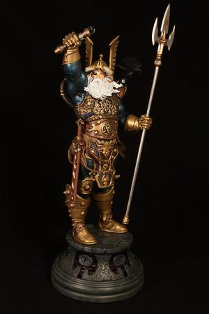 Bowen Designs Odin Statue PHASE 4