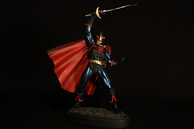 Bowen Designs Black Knight Statue Red Variant PHASE 4