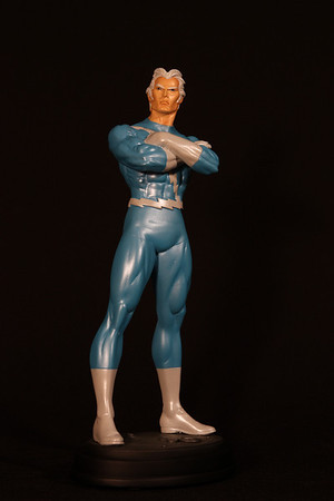 Bowen Designs Quicksilver Statue Total Blue Exclusive PHASE 4