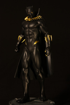 Bowen Designs Black Panther Modern Statue PHASE 4
