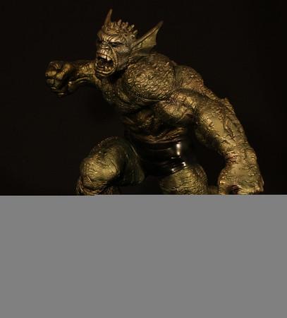 Bowen Designs Faux Bronze Abomination Statue PHASE 4