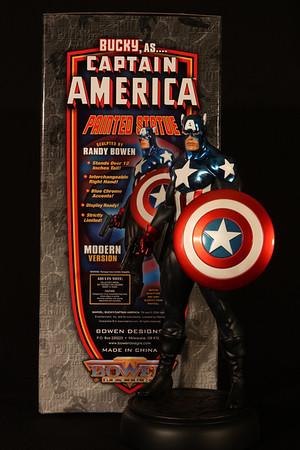 Bowen Designs Bucky as Captain America Statue