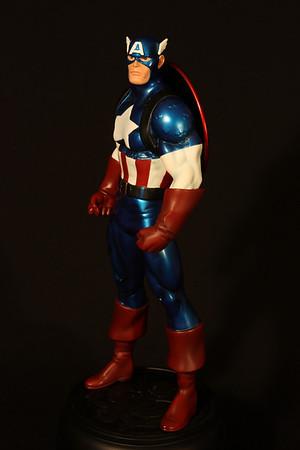 Bowen Designs Captain America Metallic Statue PHASE 4