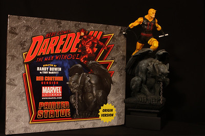 Bowen Designs Daredevil Statue Origin Version PHASE 4