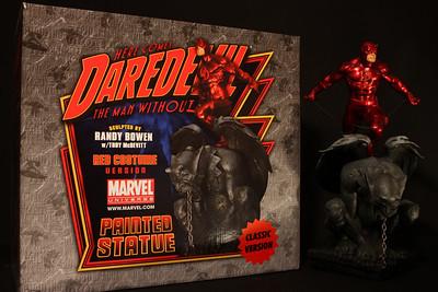 Bowen Designs Daredevil Statue Red Version PHASE 4