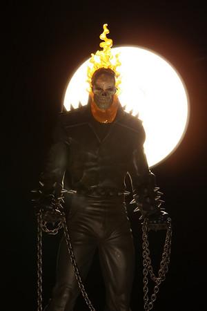 Bowen Designs Ghost Rider Statue Danny Ketch Version