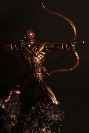 Bowen Designs Hawkeye Faux Bronze Statue PHASE 4