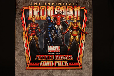 Bowen Designs Iron Man Statues 4 Pack PHASE 4