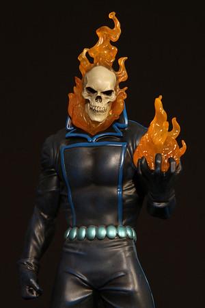 Bowen Designs Ghost Rider Statue Johnny Blaze Version PHASE 4