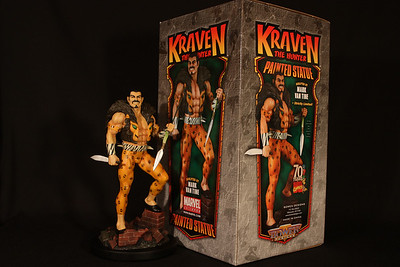 Bowen Designs Kraven the Hunter Statue PHASE 4