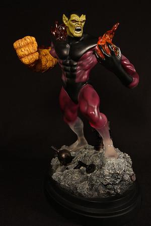 Bowen Designs Super Skrull Statue PHASE 4