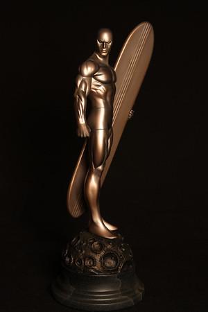 Bowen Designs Silver Surfer Faux Bronze Statue PHASE 4