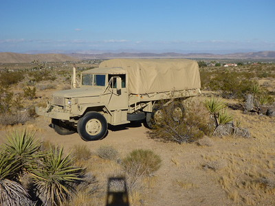 AM General Military Truck and Trailer