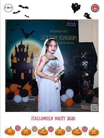 Trung Tâm Anh Ngữ AMA - Buôn Ma Thuột   Halloween 2020 instant print photo booth in Buon Ma Thuot   Chụp hình in ảnh lấy liền tại Buôn Ma Thuột   Buon Ma Thuot Photobooth