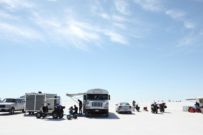 2010 Bonneville Salt Flats, Wendover, Utah   © DAN CAMPBELL dancampbellphotography.com, courtesy of the AMA. All Rights Reserved.