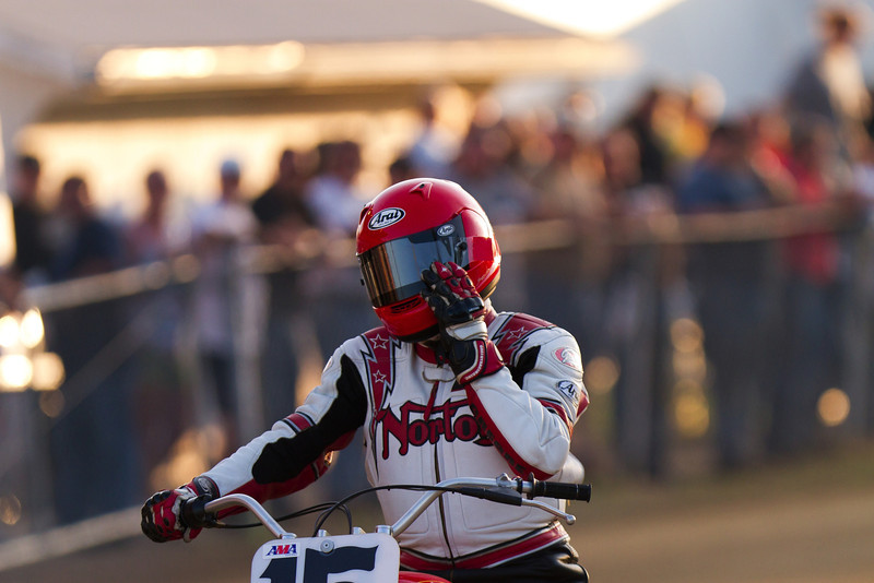 """AMA Vintage Grand Championships July 21, 2012 at the Ashland County Fairgrounds in Ashland, Ohio. Photo by <a href=""""http://www.maysphotos.com/"""">Corey Mays</a>, courtesy of the AMA."""
