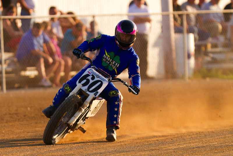 "AMA Vintage Grand Championships July 21, 2012 at the Ashland County Fairgrounds in Ashland, Ohio. Photo by <a href=""http://www.maysphotos.com/"">Corey Mays</a>, courtesy of the AMA."