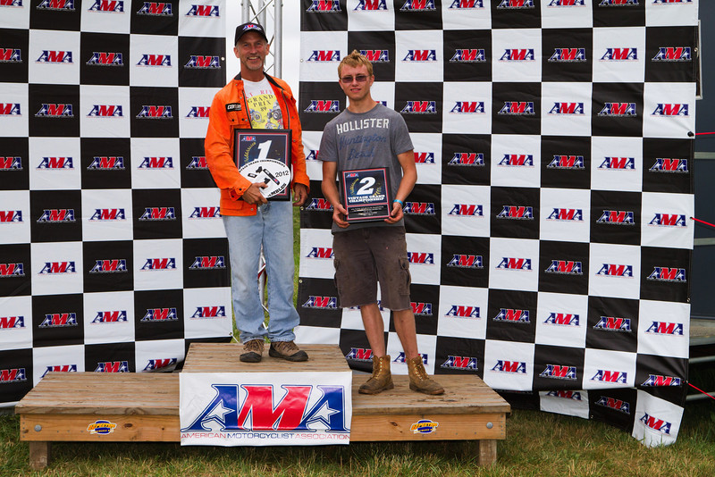 """AMA Vintage Grand Championships July 20, 2012 at Mid-Ohio Sports Car Course in Lexington, Ohio. Photo by <a href=""""http://www.maysphotos.com/"""">Corey Mays</a>, courtesy of the AMA."""