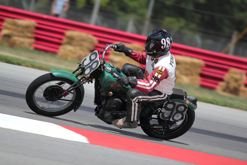 "AMA Vintage Grand Championships July 21-22, 2012 at Mid-Ohio Sports Car Course in Lexington, Ohio. Photo by <a href=""http://m5racing.com"">David Stanoszek/M5 Racing</a>, courtesy of the AMA."