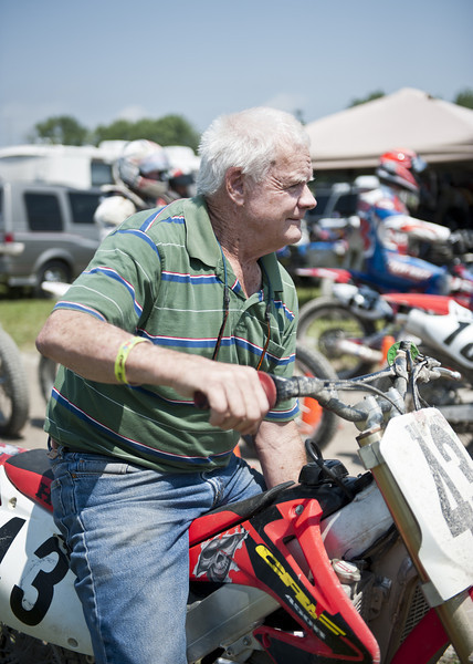 2013 AMA Dirt Track Grand Championships, June 24-27 at the Illinois State Fairgrounds in Springfield, Ill. Photo by Yve Assad, courtesy of the American Motorcyclist Association.