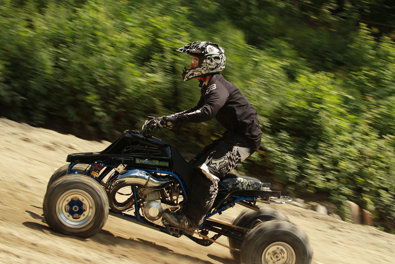 AMA Hillclimb Grand Championships, Monson, Mass. August 9-11, 2013. Photo by Emmet O'Connell, courtesy of the American Motorcyclist Association.